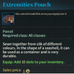 image of Extremities Pouch