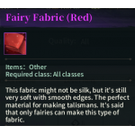 image of Fairy Fabric(Red)